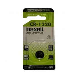 MAXELL Pile Bouton Lithium - CR1220 Standard