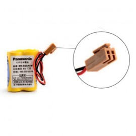 PANASONIC Pack pile lithium BRA - 6V - 1800mAh + connecteur marron A98L-0031-0011