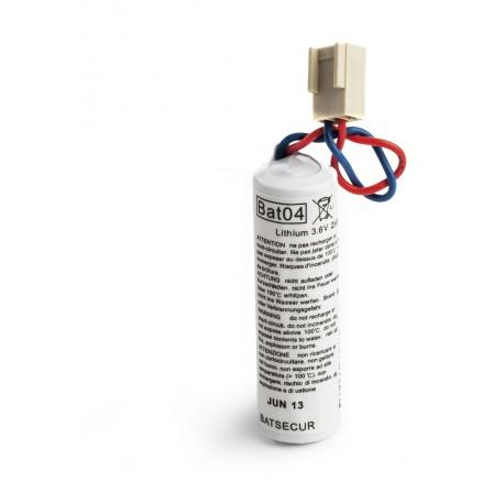 Pile Batterie Alarme BATLI04 Batsecur - 3,6V - 2,7Ah - Compatible DAITEM/LOGISTY