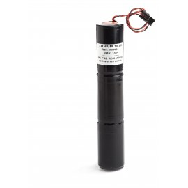 CHRONO Pile Batterie Alarme Compatible NOXALARM - D - Lithium - 9.0V - 7.75Ah + Connecteur