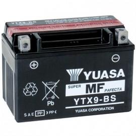 Batterie moto YUASA YTX9-BS/GTX9-BS avec pack acide - 12V – 8Ah