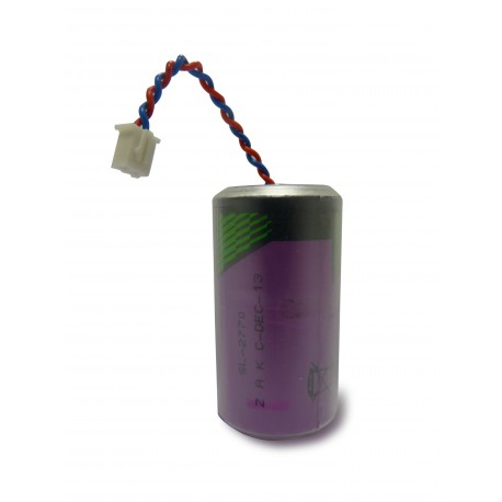 Chrono Pile Lithium ER34615 – 3.6V – 19.0Ah + Connecteur