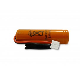 Pile Batterie BAT 90821 X - 3.6V - 700mAh - Batsecur - Compatible DAITEM/LOGISTY