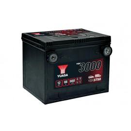 Batterie voiture américaine Yuasa YBX3750 - 12V - 66Ah