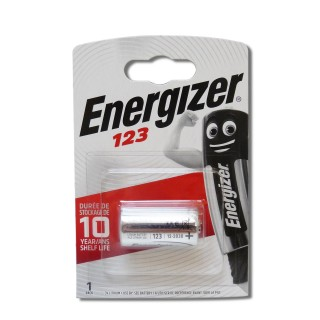Pile Energizer CR123 Photo