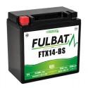 Batterie moto FTX14-BS FULBAT GEL - 12V - 12.6Ah