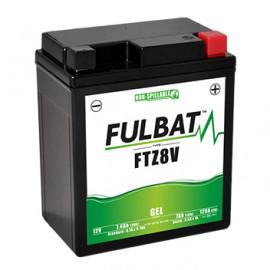 Batterie moto FTZ8V FULBAT GEL - 12V - 7.4Ah